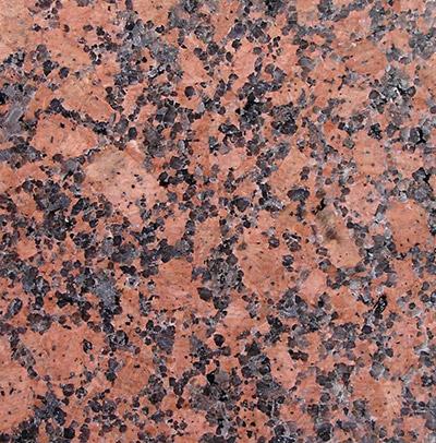 """S-06: Piso de piedra """"Granito Rojo Príncipe"""". (Dado el alto costo de la piedra, estesuelo tiene un incremento del presupuesto dado, que depende de la superficie de la cabina,por lo que debe ser consultado el incremento que corresponde)."""